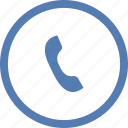 call, function, operation, phone, round, vk, vkontakte icon