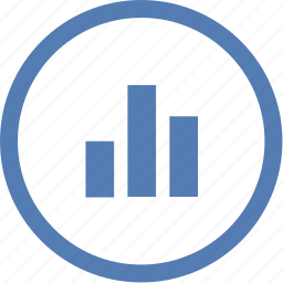 data, infographics, report, round, statistics icon