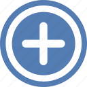 add, create, function, more, plus, vk, vkontakte icon