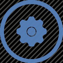 customization, gear, options, settings, vk, vkontakte icon