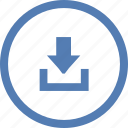 data, download, file, storage, transfer, vk, vkontakte icon