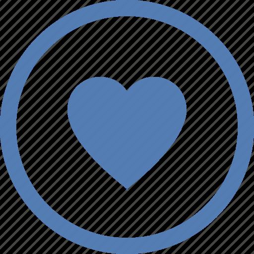 emotion, feelings, heart, like, love, vk, vkontakte icon