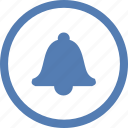alarm, bell, ring, signal, signalization, vk, vkontakte icon
