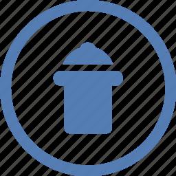 clear, del, delete, function, garbage, vk, vkontakte icon