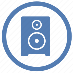 acoustic, music, player, sound, speaker, vk, vkontakte icon