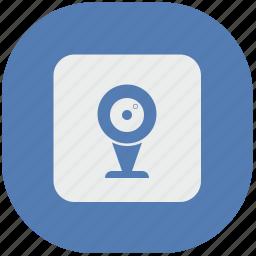 cam, camera, recording, security, vk, vkontakte, web icon