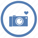 camera, digital, love, photo, romantic, vk, vkontakte icon