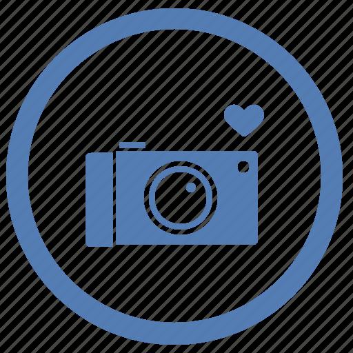 camera, digital, love, photo, romantic, vk, vkontakte icon