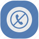 call, cancel, dial, phone, stop, vk, vkontakte icon
