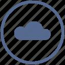 cloud, mobile, mode, round, storage, transfer, vk icon