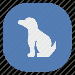 app, dog, friend, mobile, service, vk, vkontakte icon