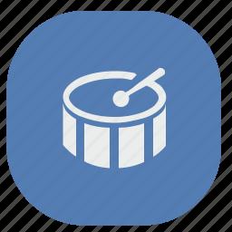 drum, instruments, mashine, music, vk, vkontakte icon