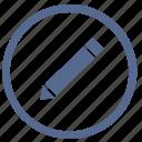 correct, edit, function, tool, vk, write icon