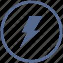 electric, error, news, notice, round, shock, vk icon