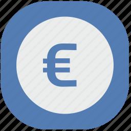 cash, eu, euro, europe, money, vk, vkontakte icon