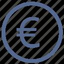 bank, euro, exchange, function, money, value, vkontakte icon