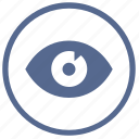browser, eye, mobile, mode, preview, visible, vkontakte icon