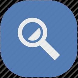 find, glass, loop, scale, vk, vkontakte icon