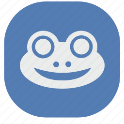 avatar, face, frog, head, vk, vkontakte icon