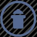 delete, files, garbage, instrument, trash, ui, vkontakte icon