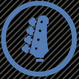 guitar, instrument, music, play, rock, vk, vkontakte icon