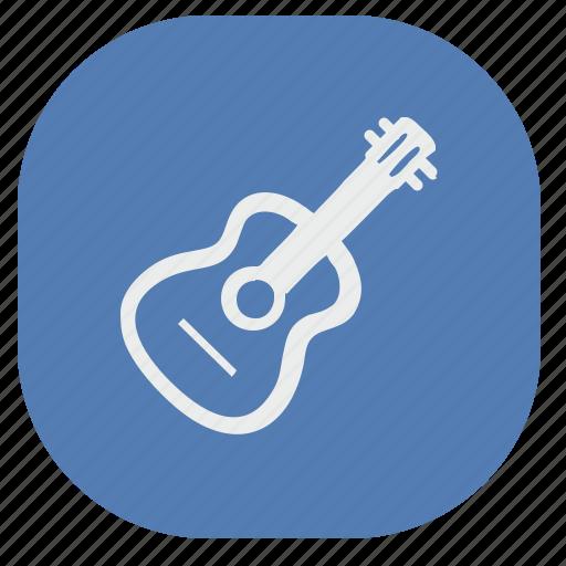 guitar, music, play, rock, vk, vkontakte icon