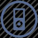 device, ipod, listen, sound icon