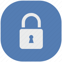access, lock, locker, password, security, vk, vkontakte icon