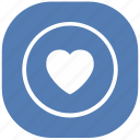 heart, like, love, vk, vkontakte icon
