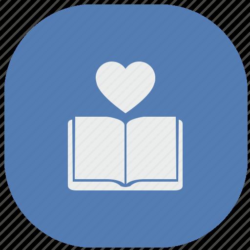 book, love, reading, vk, vkontakte icon