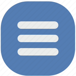 access, bar, menu, mobile, vk, vkontakte icon