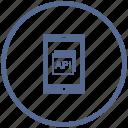api, code, mobile, program, vk, windows icon