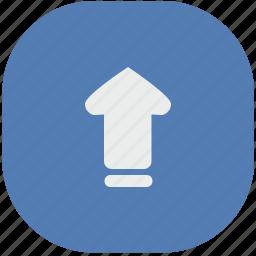 move, navigation, top, up, vk, vkontakte icon