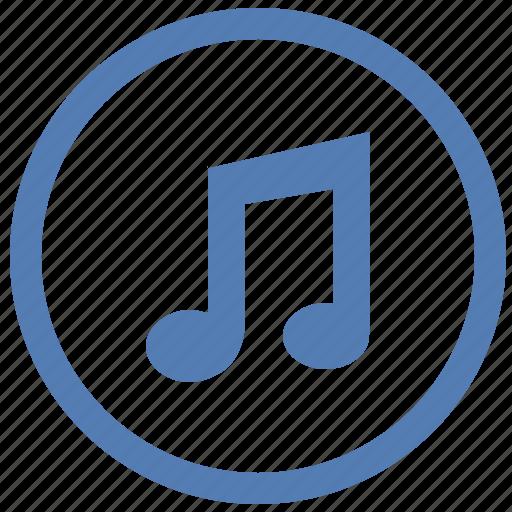 listen, music, note, sound, vk, vkontakte icon