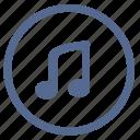 music, mute, sound, vkontakte, volume icon