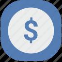 cash, dollars, money, pay, usd, vk, vkontakte icon