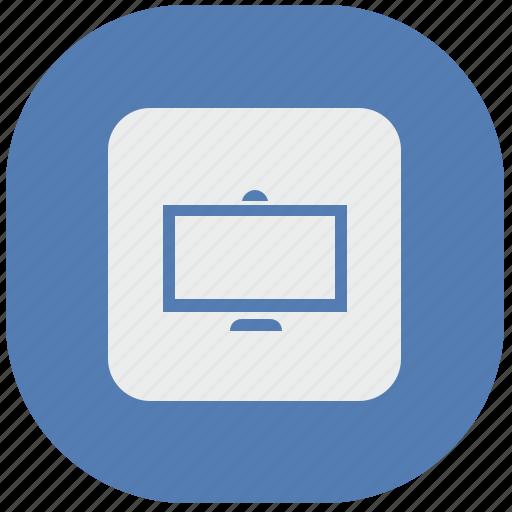 monitor, plazma, screen, tv, vk, vkontakte icon