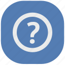 api, ask, quest, question, secret, vk, vkontakte icon