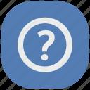 ask, quest, question, secret, vk, vkontakte icon