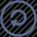 navigation, page, reload, return, ui, update, vkontakte icon