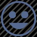 face, feelings, lucky, mobile, smile, smiley, vkontakte icon