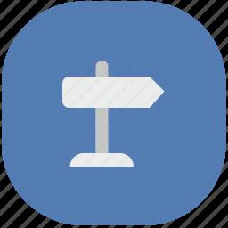 app, application, pointer, street, vk, vkontakte icon