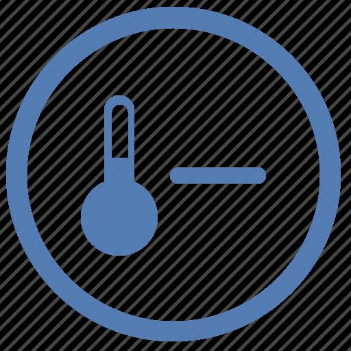 cold, minus, temperature, vk, vkontakte, weather icon
