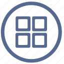 format, menu, metro, style, tile, vkontakte icon
