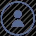login, man, person, user icon