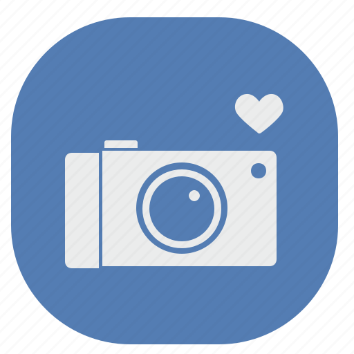 camera, photo, service, shot, vk, vkontakte icon