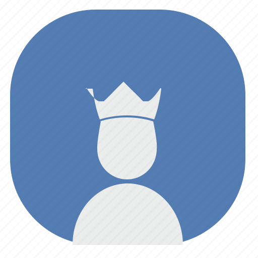 crown, king, prince, queen, vk, vkontakte icon