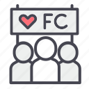 fanclub, fc, lover, subscriber icon