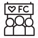 fanclub, fc, lover, subscriber icon