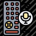 remote, control, panel, voice, command